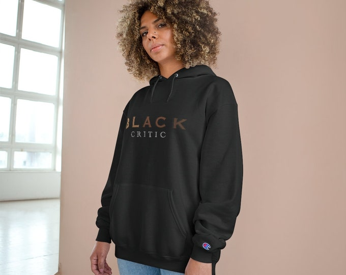 Featured listing image: The Black Critic Champion Hoodie