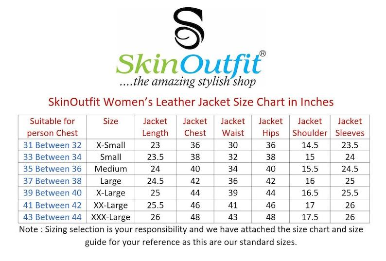 SkinOutfit Women Leather Jacket Bomber Biker Genuine Lambskin Leather Jacket for Women Black