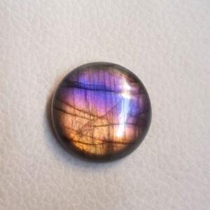 AAA+++Top Labradorite Cabochon Gemstone,Amazing Fabulous Designer Purple Multi flashy,Long Marquis Shape,Size 34x12MM 19.00Cts Pendant Stone