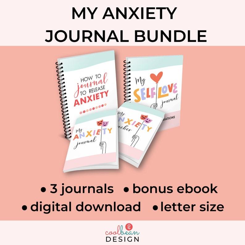 My Anxiety Journal Bundle image 0