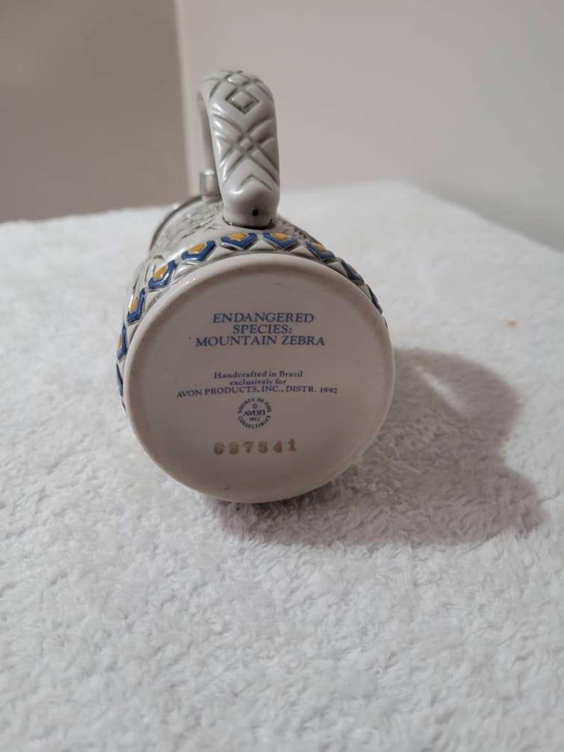 Endangered species collection Vintage Avon collectible mini stein