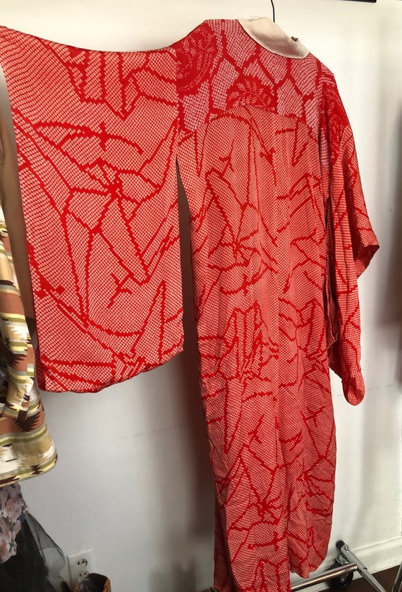 Vintage Silk Robe - image 4