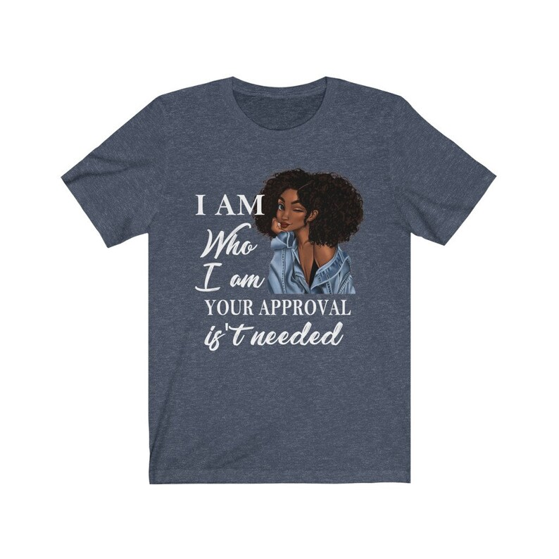 Black History I Am Who I Am Shirt Black Queen Lady Gift for Women Curly Natural Afro African American Ladies T-Shirt Black Queen Shirt