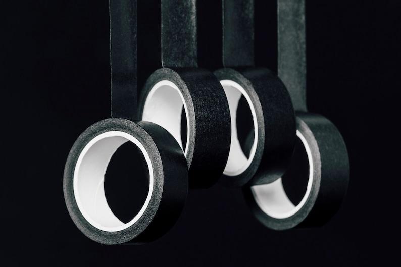 black washi tape