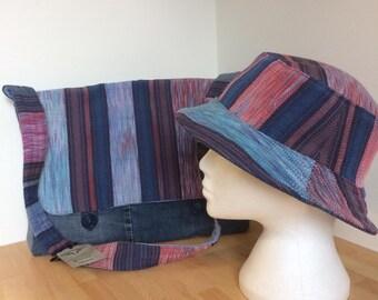 Laptop bag hand-woven