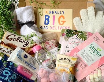Ultimate pamper box , Pamper gift box for her, pamper kit, self care gift box, care package for her, pamper hamper, gifts