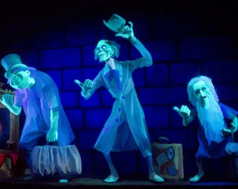 Hitchhiking Ghosts from the Haunted Mansion