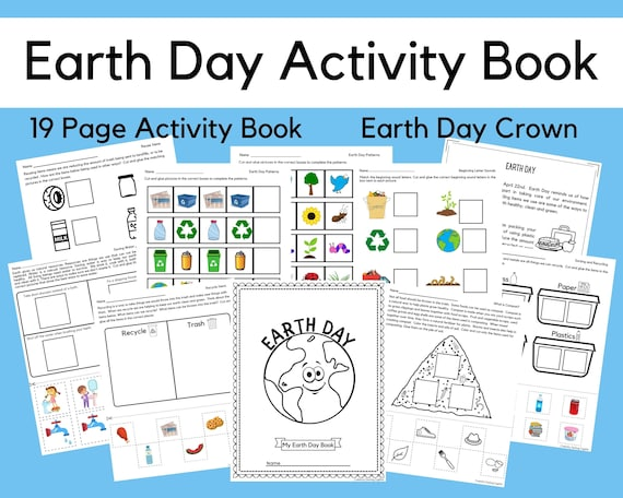 Earth Day Printables Preschool Printable Worksheets