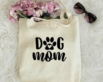 DOG LOVERS Purple Dog Mom ToteDog LoverClear Stadium BagDog MamaGift for Dog LoverWeekend BagPurple Dog Mom DecalDog Mom