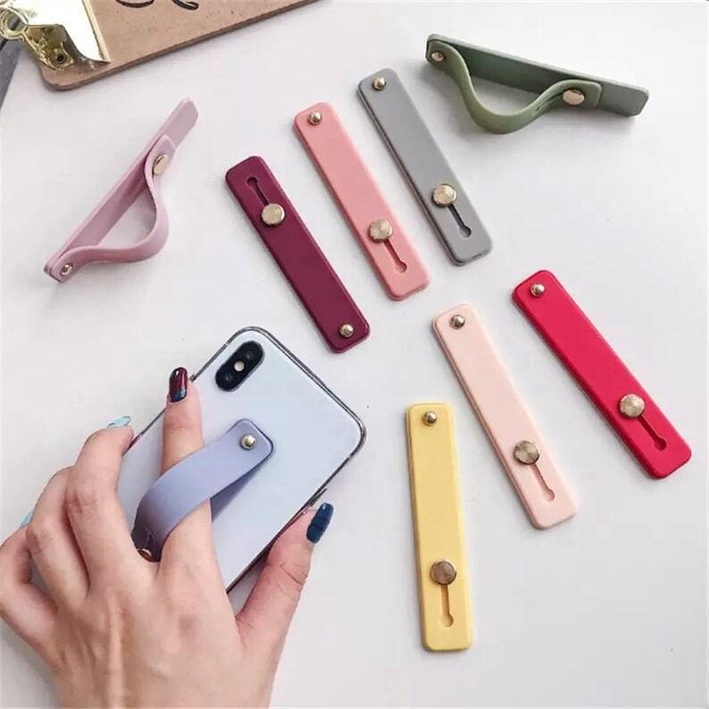 Phone Grip holder Finger Strap Bracket Phone Loop Finger Stand for Universal Phones
