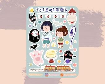 Sticker Sheet Chi Hi Ro