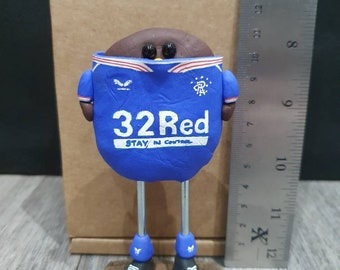 Glasgow Rangers bird 2021 full kit  handmade and also can be personalized please read the description down below