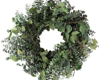 "18"" Preserved Eucalyptus Wreath"