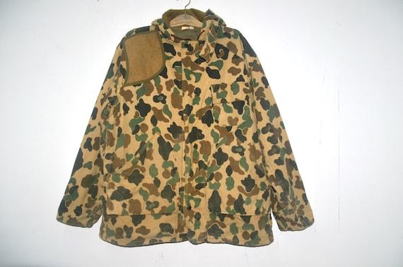 Vintage 80s Camo Hunting Jacket Parka