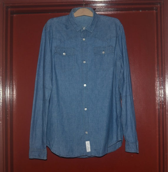 undercover undercoverism chambray shirt