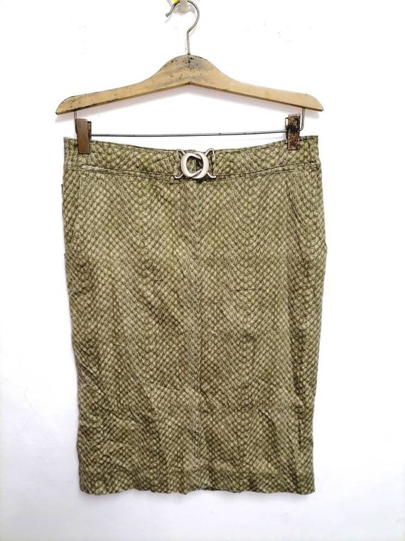 Cavalli jeans by roberto cavalli skirt animal prin