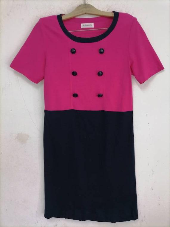Vintage Yves Saint laurent YSL dress