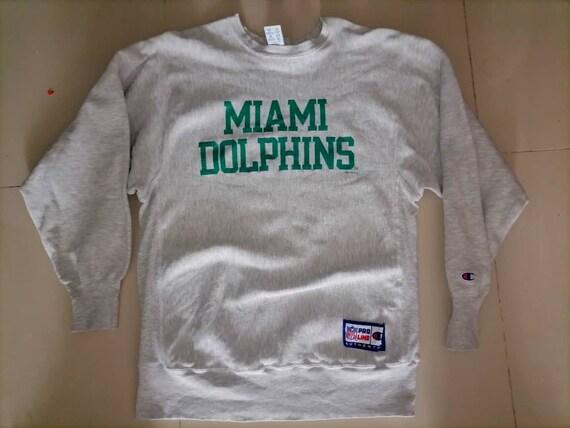 Vintage 90s Miami Dolphins Champion Sweatshirt