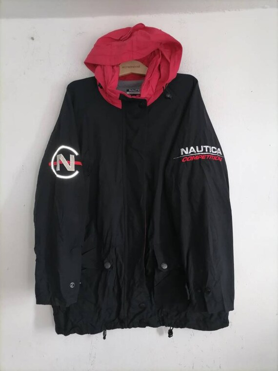 Vintage Nautica Competition Sailing Jacket Parka
