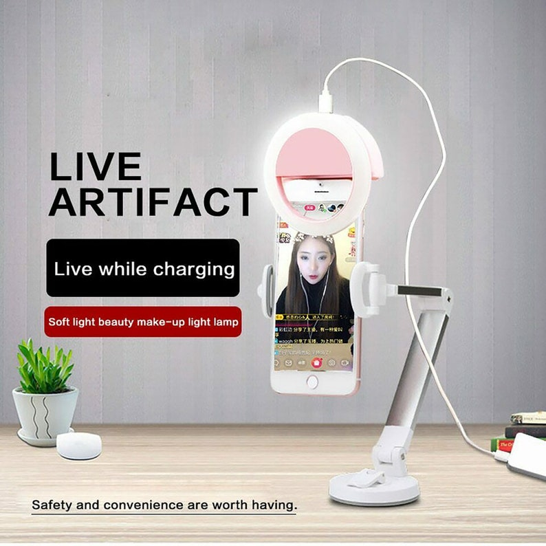 LED Selfie Light Ring Flash Fill Clip Camera For Mobile Phone image 10