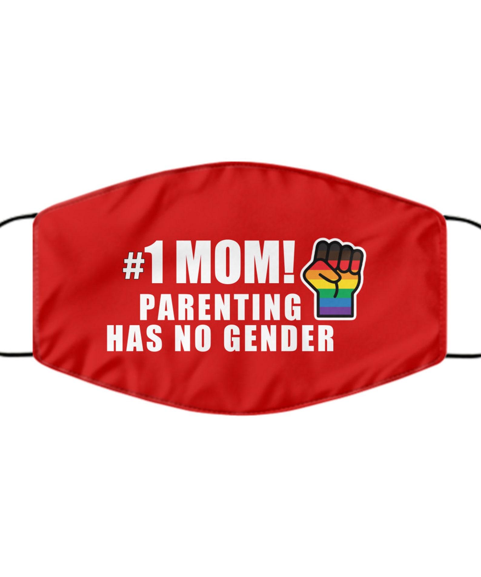 LGBTQ Mom MaskGay Pride Fist Mom MaskParenting Has No   Etsy
