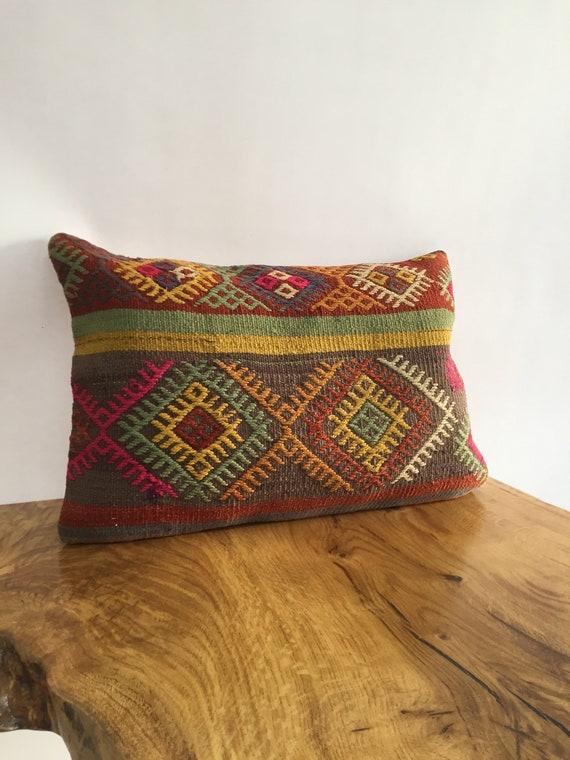 Throw Pillow Cover 24x24 in 60x60 cm Big Sitting Cushion Boho Pillow Turkish Bohemian Pillow Rug Pillow Cover Armchair Pillow Case 4af-389