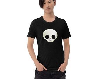 Unisex T-Shirt: Cute Gothic Skull