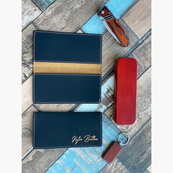 Checkbook Wallet and Holder Custom Checkbook Checkbook Case Leather Checkbook Personalized Checkbook Cover Custom Checkbook Covers