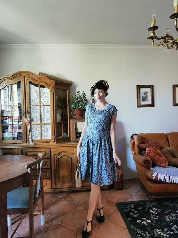 PEGGY PAGE london dress 50s