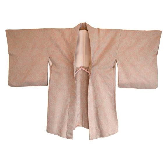 Haori - Vintage Japanese Kimono - Short Kimono - K