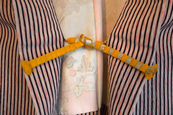 Haori - Vintage Japanese Kimono - Short Kimono - … - image 3