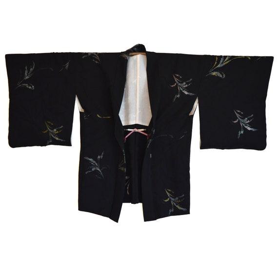 Haori - Vintage Japanese Kimono - Short Kimono - B