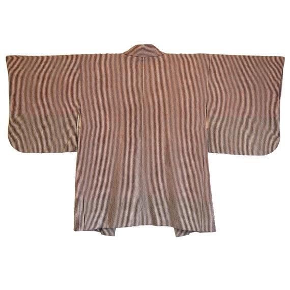 Haori - Vintage Japanese Kimono - Short Kimono - … - image 2