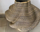Bolga Basket, Flower Pot Basket, Basabasa Pot Basket
