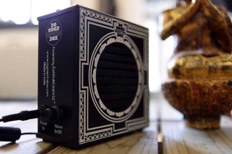 Mantra Box  Classic audio mantras with a retro design. image 1