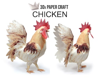 Fridolin Funny Origami 15x15: Chicken: Amazon.de: Spielzeug | 270x340