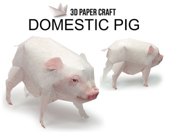 3d Papercraft Etsy