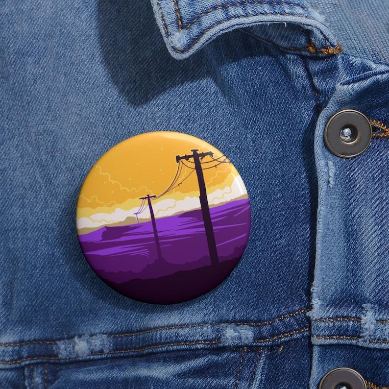 Series 2 Enby Scape Discreet Pride Pin