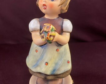 Vintage 1960/'s Goebel Hummel Figurine For Mother Girl wFlowers Figurine  Gift for Mom  Collectible  Gift Idea  Under 50 Gifts