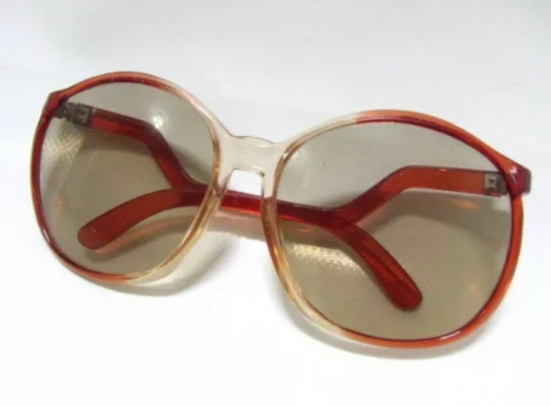 Retro Woman Sunglasses 1970s West Germany
