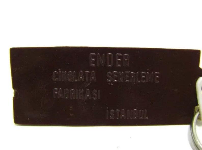Ender Turkish Chocolate Shaped Keychain