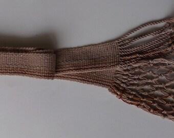 Custom Macrame  Tie Belt Special order only