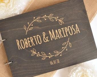 Wedding GuestbookAlternative GuestbookWood GuestbookRustic Wedding24x30