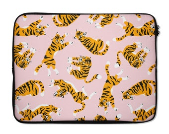 Xxh 15Inch Laptop Sleeve Case Cats Jungle Tiger Neoprene Cover Bag Compatible MacBook Air//Pro