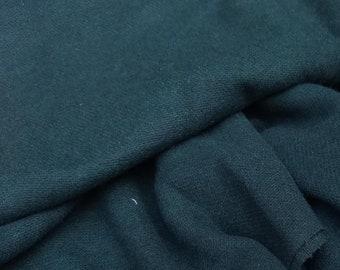 Dark Green Wool Fabric