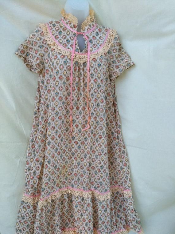 Vintage Jody T of California Boho / Peasant Dress