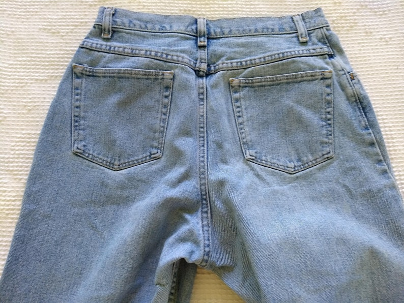 19801990s High Waisted  High Rise Jeans by Wrangler