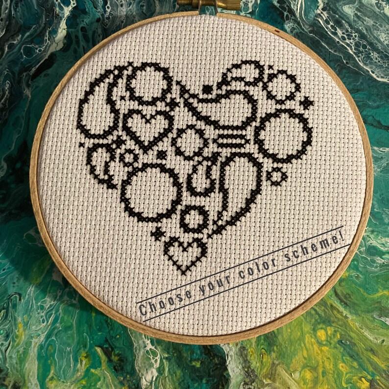 Paisley Heart Wall Hanging