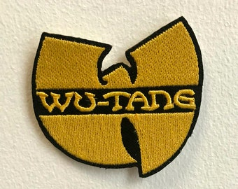 Wu Tang Clan  Embroidered Donut Pink Hip Hop Rap Iron on Patch