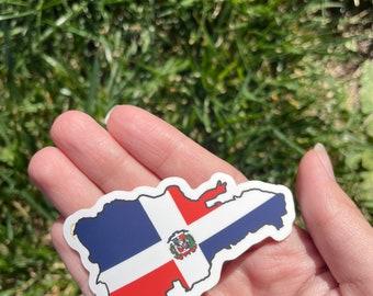 Dominican Republic waterproof sticker